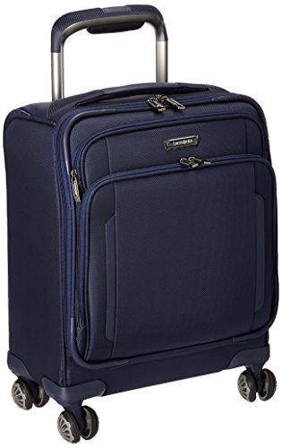 Samsonite Silhouette Xv Softside Spinner Boarding Bag, Twilight Blue by Samsonite