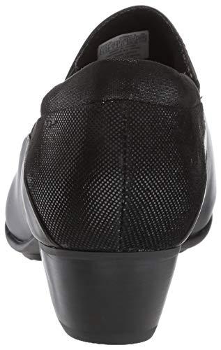 Slipon Provence Asymmetrical Aravon Black Women's Pump qSRRwxPO