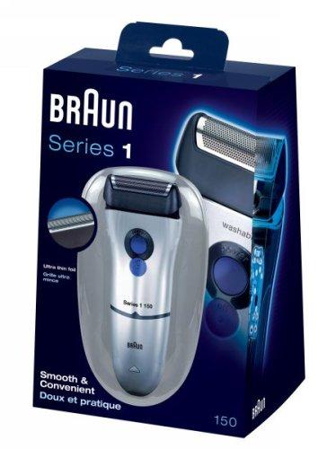 braun series 1 1 150 men 39 s shaver import it all. Black Bedroom Furniture Sets. Home Design Ideas