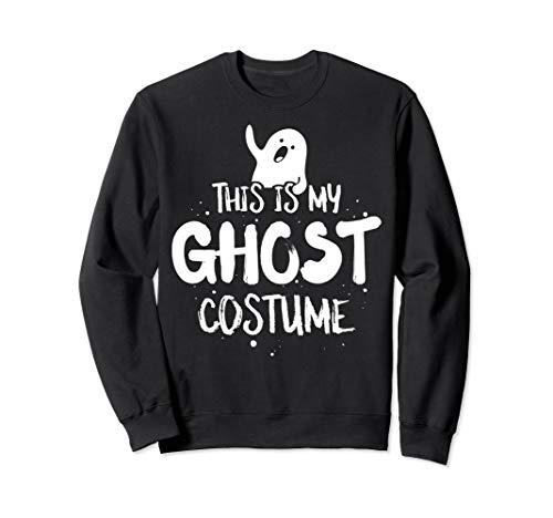 Funny Halloween Costume Sweatshirt - Ghost Hunter ()