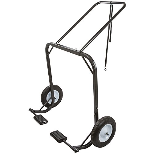 Black Ice SNO-1509 Snowmobile Hoist Cart (Snowmobile Shop Dolly)