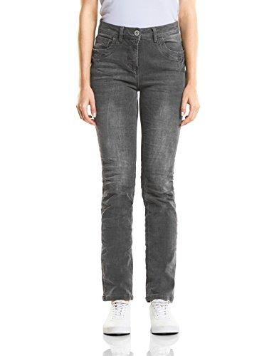 Wash 10189 Grey Droit Cecil Grau Jean Femme Used xfwv00TYq
