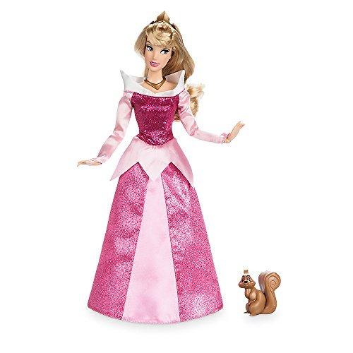 Disney Aurora Classic Doll with Squirrel Figure - 11.5 Inch