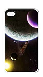 TUTU158600 Design Hard Customized case Of iphone 4 cases for boys - Star Universe 3 balls