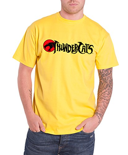 Men's Official Yellow Thundercats T Shirt - S to XXL