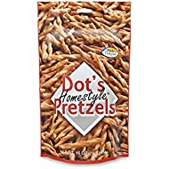 Dot's Homestyle Pretzels 1 lb. Bag (2 Bag) 16 oz. Unique Seasoned Pretzel Snack Sticks