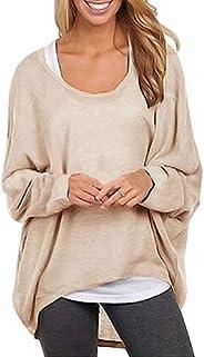 Moollyfox Women's Casual Plus Size Loose Sweater