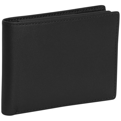 Royce Leather Mens Removable Id Pass Case Wallet – Black, Bags Central