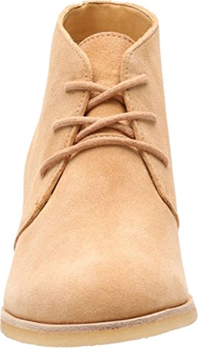 Clarks Womens Fenia Carnaby Boot Fudge Suede