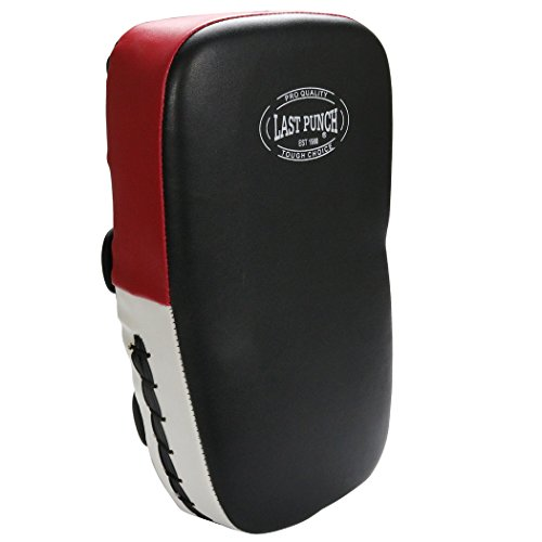 Last Punch Boxing Training Kicking Punching Pad Red White & Black by Last Punch