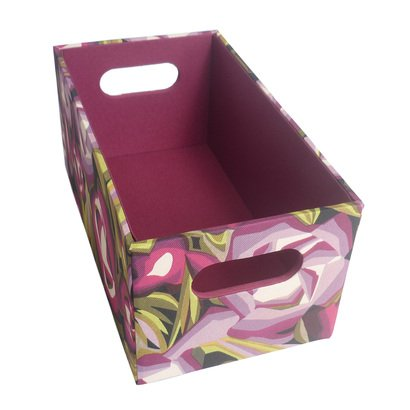 Missoni For Target Large Floral Passione Media Bin Storage Box