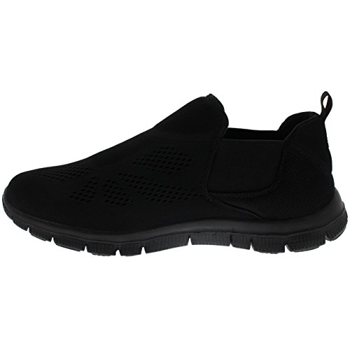 Slip Weight Walking Trainers Atletico Women Elastico Walking Chelsea Getfit nero Gym on Running nero Light TEfwZnq