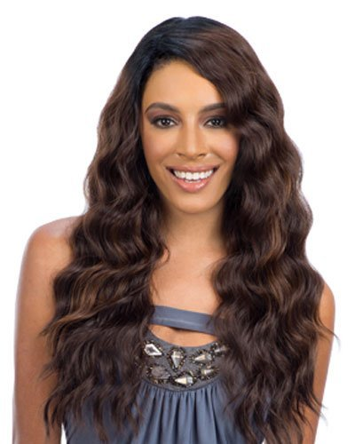 Freetress Equal Brazilian Natural Lace Deep Diagonal Part Lace Front Wig FLIRTY DEEP (1)