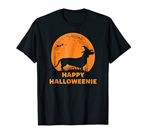 Happy Halloweenie Dog Halloween Dachshund Gift -