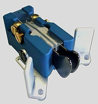 Begali Traveler Light Morse Key - Blue: Amazon co uk