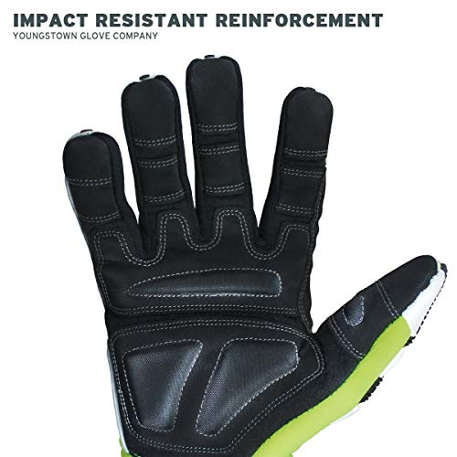 Cut Resistant Gloves Bundle - 1 - Firefighter Extrication Gloves (Large) | 1 - Glove Strap (lime Green) | 1 - Firefighter Journal (Track training hours, Run activities, work, ect.) by Generic (Image #4)