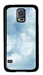 Samsung Galaxy S5 Clouds Texture PC Custom Samsung Galaxy S5 Case Cover Black