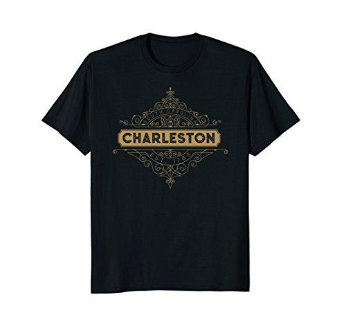 Charleston T Shirt SC Retro Art Deco 20s - Stores Charleston In Sc