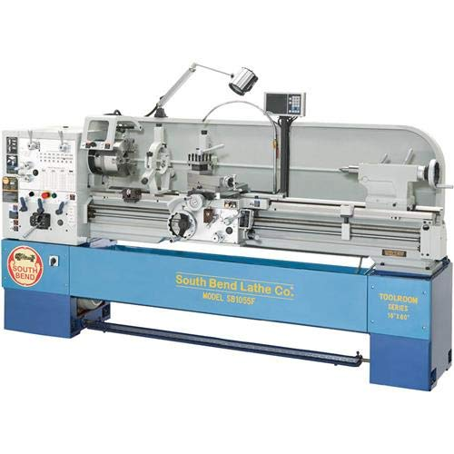 South Bend SB1055F Gearhead Lathe with DRO, 16-Inch by 60-Inch