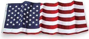 Allied bandera al aire libre pesos pesados, poliéster bandera de Estados Unidos, 12-Foot por 18-foot