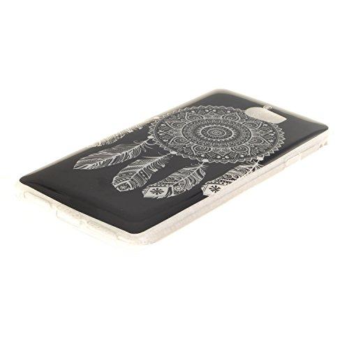 Funda Xiaomi Redmi 4A , Ycloud TPU Caparazón protector Diseño pequeño Estilo silicona Carcasa Case Cover - Diente de león cu24