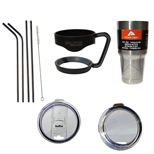 Vacuum Insulated Stainless Tumbler Bundle