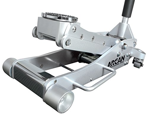2 Ton High Lift (Arcan ALJ3T Aluminum Floor Jack - 3 Ton Capacity)