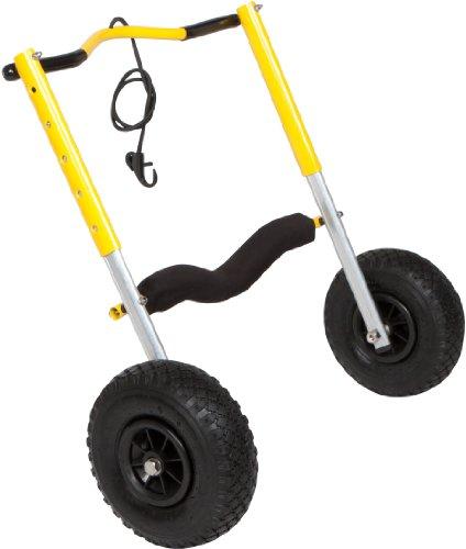 Suspenz XL Airless End Cart, Yellow ()