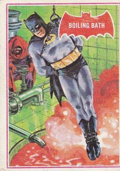 1966 Topps Batman Red Bat (Non-Sports) card#12 Boiling Bath of the Grade Very Good from Topps