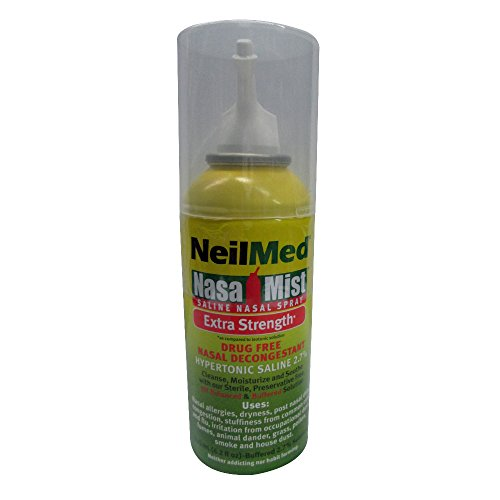 NeilMed Hypertonic NasaMist Saline Spray