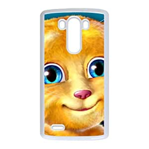 Talking Ginger, a cat LG G3 Cell Phone Case White MSU7219712