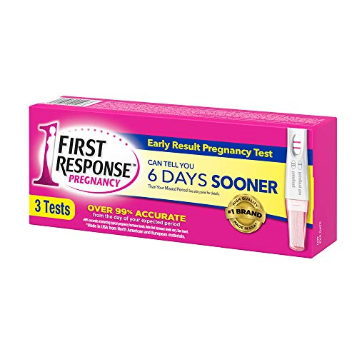 Large Product Image of First Response Early Result Pregnancy Test, 3 Pack (Packaging & Test Design May Vary)