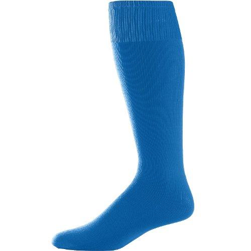 Augusta Sportswear Youth Game Socks Royal 7-9