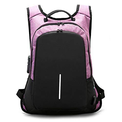 rose  SUNQQC Sacs à Dos nouveau Nylon de Haute qualité de Charge Externe Solide étudiant étanche Backpak Laptop sac à dos femmes