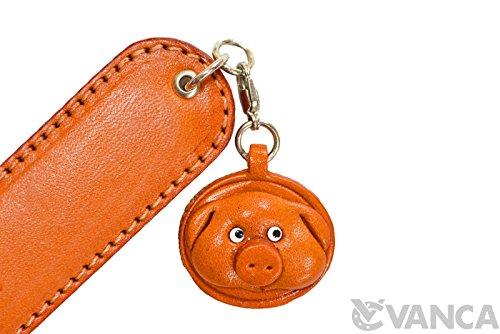 Pig Genuine Leather Paper Knife/Letter Opener *VANCA* Handmade in Japan