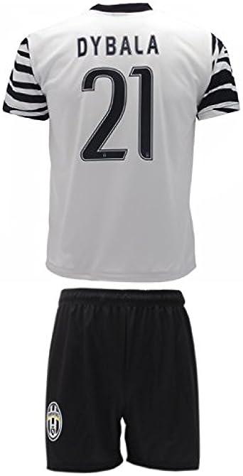 Kit Complete T Shirt Jersey Zebra Futbol Juventus Paulo Dybala 21 Replica Authorized Adult Child M Amazon Co Uk Clothing