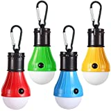 Doukey LED Camping Light [4 Pack] Portable LED Tent Lantern 4 Modes for Backpacking Camping Hiking Fishing Emergency…