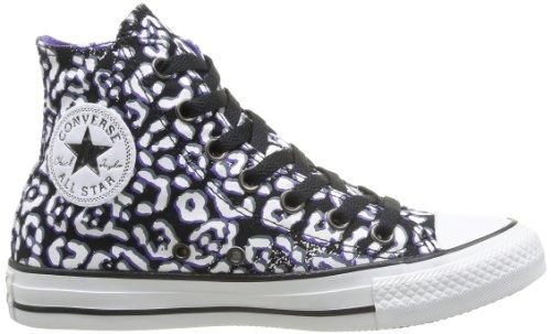 Converse Womens Chuck Taylor Animal Print Sneaker Nero / Nightshade