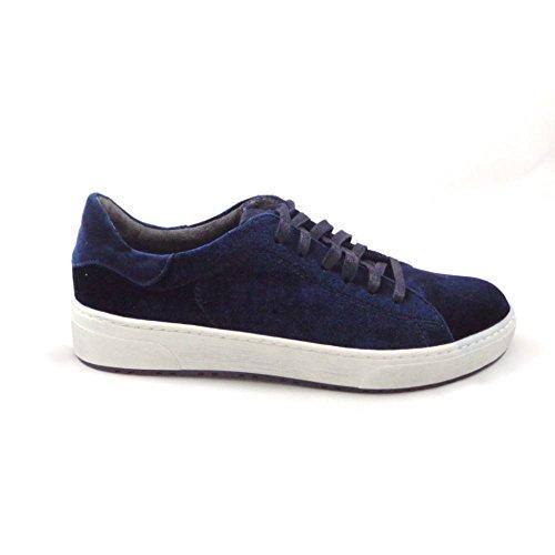 Marco Tozzi - Zapatos de cordones para mujer azul azul