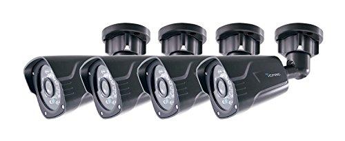 iCare Surveillance Camera Kit 720P HD CVI BULLET CAMERA weatherproof Day/night IR 100ft night vision Review