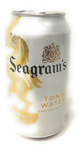 Seagram's Tonic Water in 12 Ounce Can (Case of 12)
