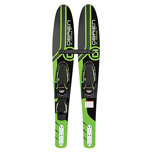 O'Brien Jr Vortex Widebody 54'' Combo Water Skis by O'Brien