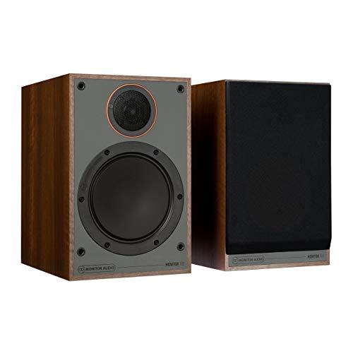 Monitor Audio 100 Boekenplank Luidsprekers, Walnoot