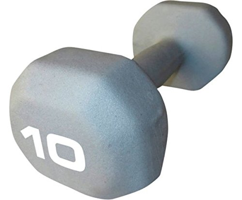 Set of 2 - Fitness Gear 10 lb Neoprene Dumbbell