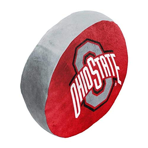 The Northwest Company NCAA Ohio State Cloud Logo Pillow, One Size, Multicolor ()
