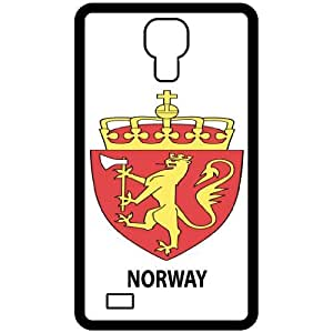 Norway - Country Coat Of Arms Flag Emblem Black Samsung Galaxy S4 i9500 Cell Phone Case - Cover