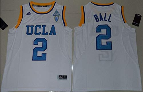 Lonzo Ball UCLA Bruins Jersey White #2 for sale  Delivered anywhere in USA