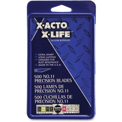 x-acto-11-bulk-pack-blades-for-x-acto-knives-500-per-box