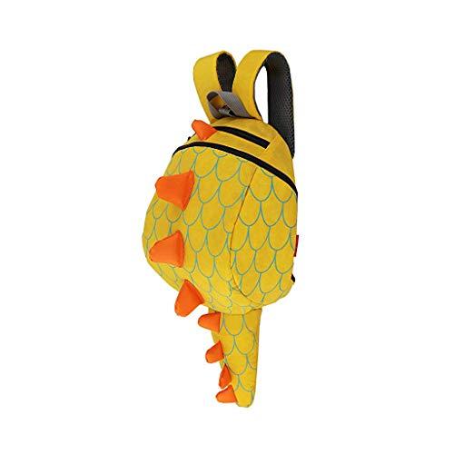 Willsa Toddler Kids Dinosaur Backpack with Safety Leash for Boys Girls Animal Backpack]()