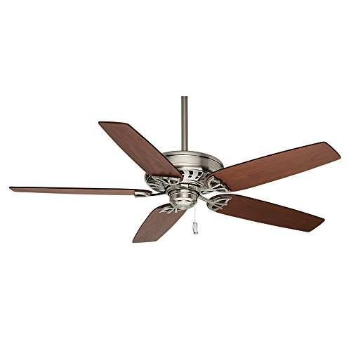 Casablanca Indoor Ceiling Fan, with pull chain control - Concentra 54 inch, Brushed Nickel, 54021